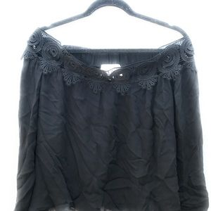 Stone Cold Fox Tops - Stone Cold Fox Silk Blouse